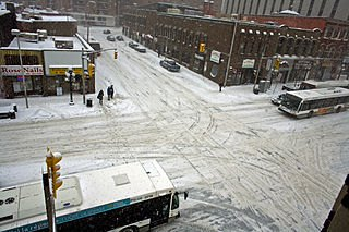 Downtown Ottawa after a snowfall. Photo courtesy of Wikimedia.